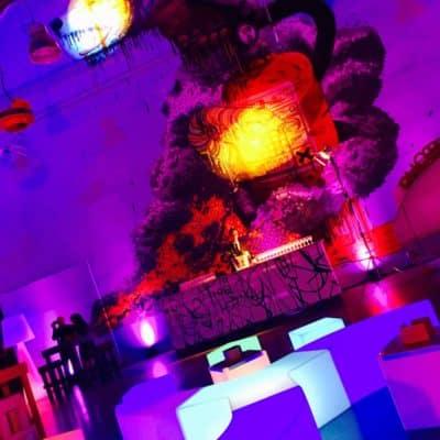 Location de poufs pour réception Toulouse - Pouf Ypsilon - event Groupama Mars 2017
