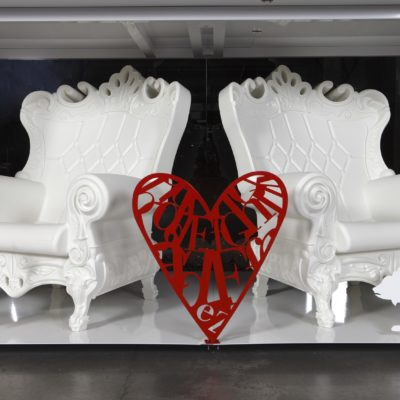 Location de fauteuils événementiels Toulouse - PSB Lounge Fauteuil Queen of love