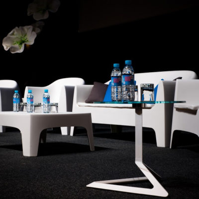 Location de table basse pour stand Toulouse - PSB Lounge Table Solid