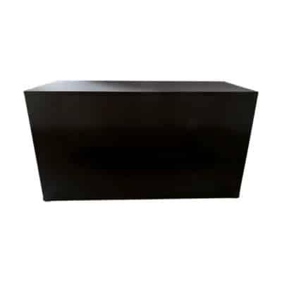 Location de mobilier traiteur Toulouse - Duo Buffet avec housse noire