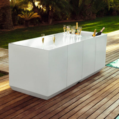 Location de mobilier bar pour occasion Toulouse - Vela bar PSB Lounge