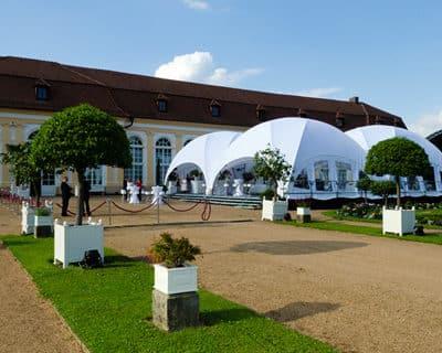 location dôme pour événement toulouse - PSB Lounge Dôme CROSS 360
