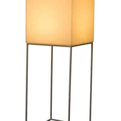 Lampe sur pied VELA jaune - location de mobilier PSB Lounge