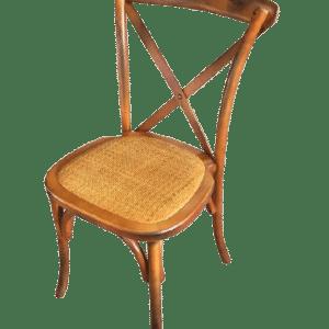 Chaise champêtre bois
